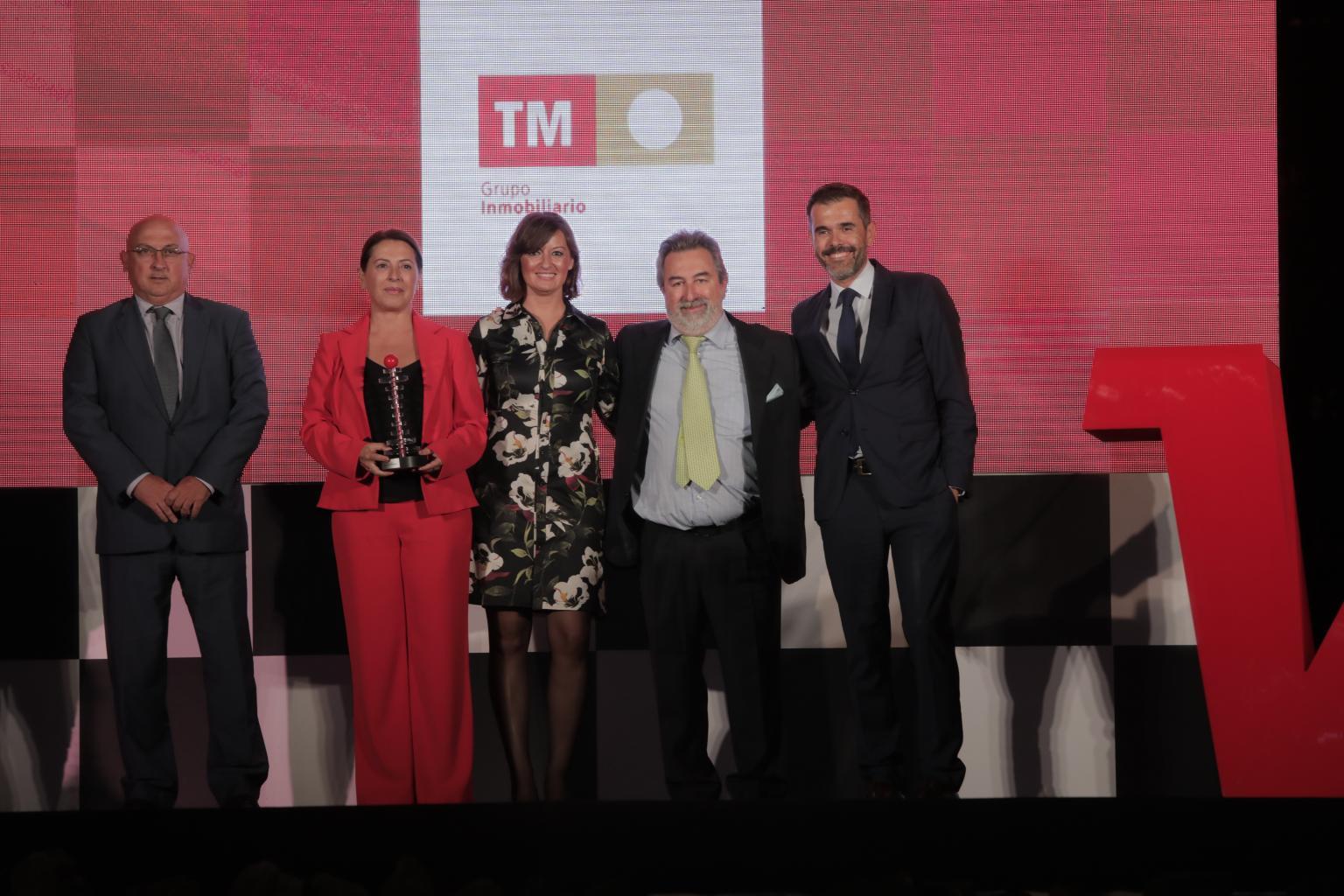 TM Grupo Inmobiliario premiado en los Premios Alfil 2019